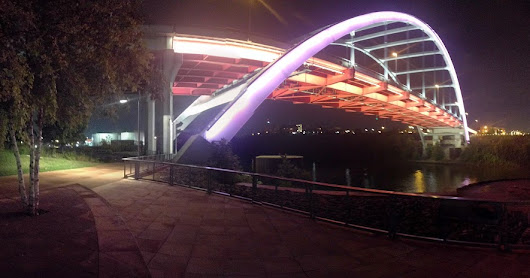 Korean Veterans Bridge in Downtown Nashville