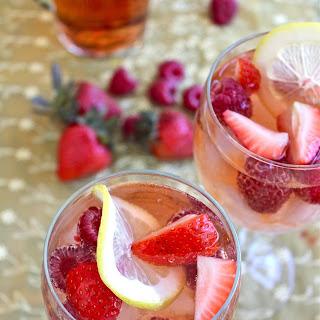 Strawberry & Limoncello Rosé Sangria.