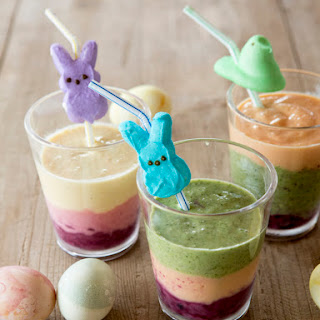 Vegan Easter Delight Smoothies.