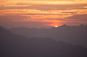 Photo: 日の出