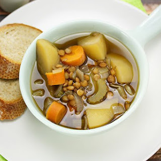 Slow Cooker Lentil Soup.