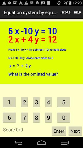 Method of equalization