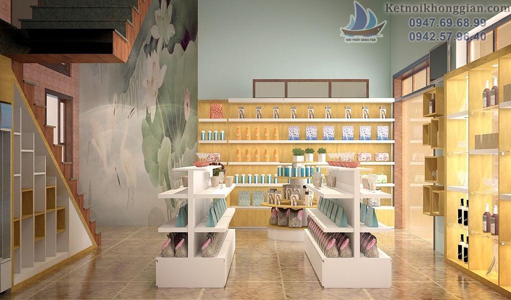thiết kế cửa hàng tạp hóa đẹp nhất Quảng Ninh