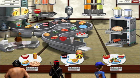 Game Burger Shop 2 – Crazy Cooking Game with Robots APK for Windows Phone