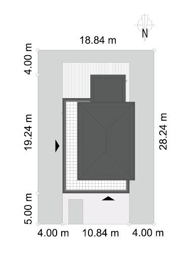 Ażurowy D38 - Sytuacja