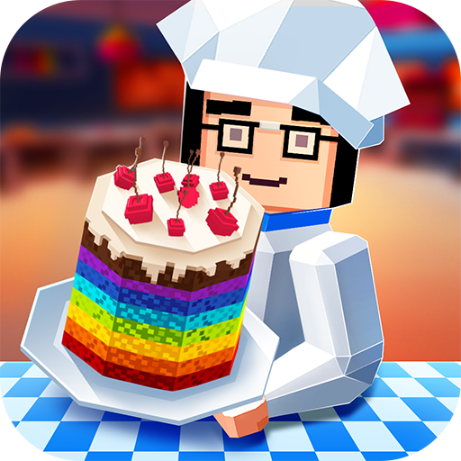 Rainbow Cake Cooking Chef