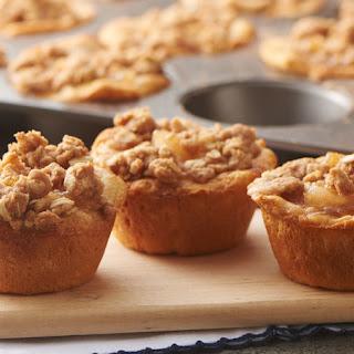 Apple Crisp Biscuit Cups.