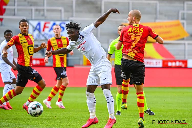 Anderlecht geeft 0-2 uit handen, KV Mechelen krijgt loon naar werken