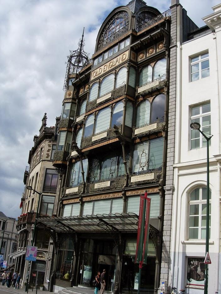 Musée des instruments de musique à Bruxelles