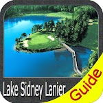 Lake Lanier gps map navigator