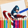 Coloring Avengers Books