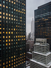 Photo: Morning Lights - New York City
