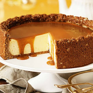Golden syrup ANZAC cheesecake.