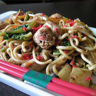 Five Spice Chicken Noodles.