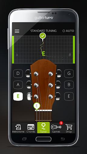 Guitar Tuner Free - GuitarTuna screenshot 1