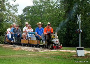 Photo: 1330    Brent Courtney with his Sweet Creek    HALS Public Run Day 2013-0921 RPW