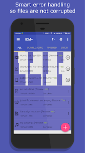 IDM+ Fastest download manager 5.0 [Pro Unlocked] Cracked Apk 6