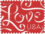 USPS love stamp
