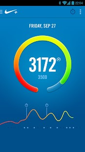 Nike+ FuelBand Screenshot 1