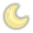 月さまライト