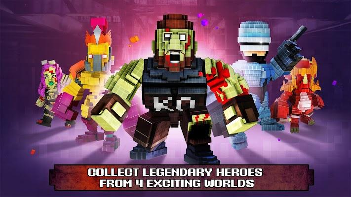 Pixel Super Heroes Screenshot Image