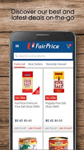 FairPrice Online screenshot 1