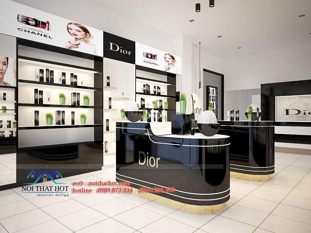 thiết kế shop mỹ phẩm châu âu 3
