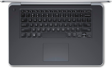 Photo: Dell XPS 15 - top down keyboard view. More details here: http://dell.to/Oj6LIW