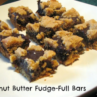 Peanut Butter and Chocolate Fudge-Full Bars