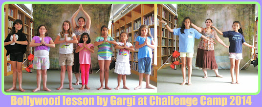 Photo: Bollywood lesson by Gargi at the Challenge Camp 2014 (day 1)