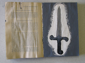 Photo: Student Work:  Art Journaling.