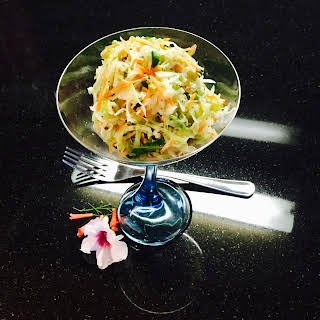 Spicy Mexican Style Cole Slaw.
