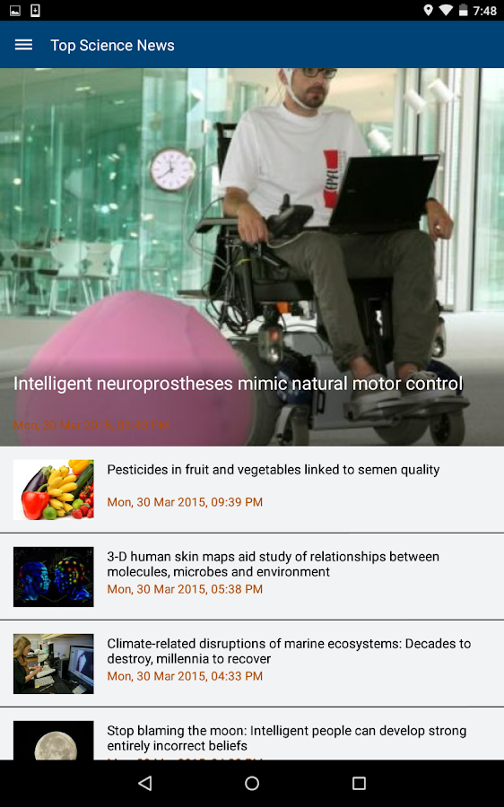 ScienceDaily- screenshot