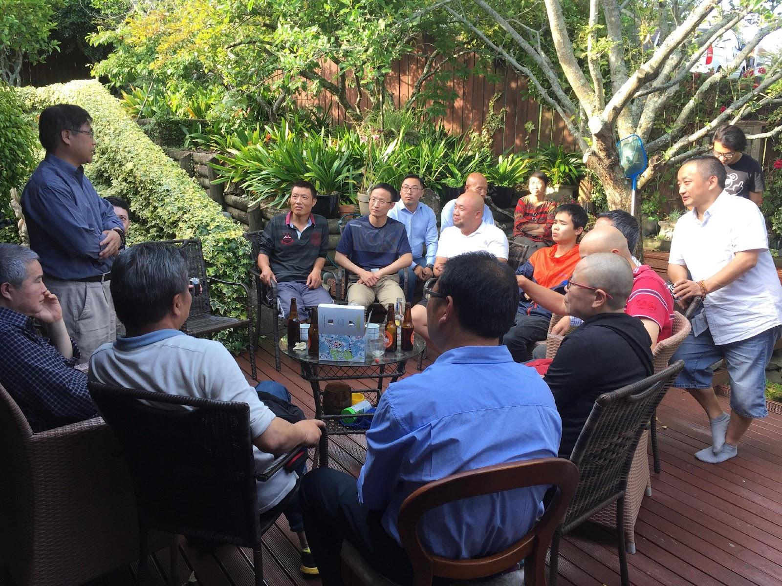 民联主席钟锦江博士到访纽西兰讲民联史