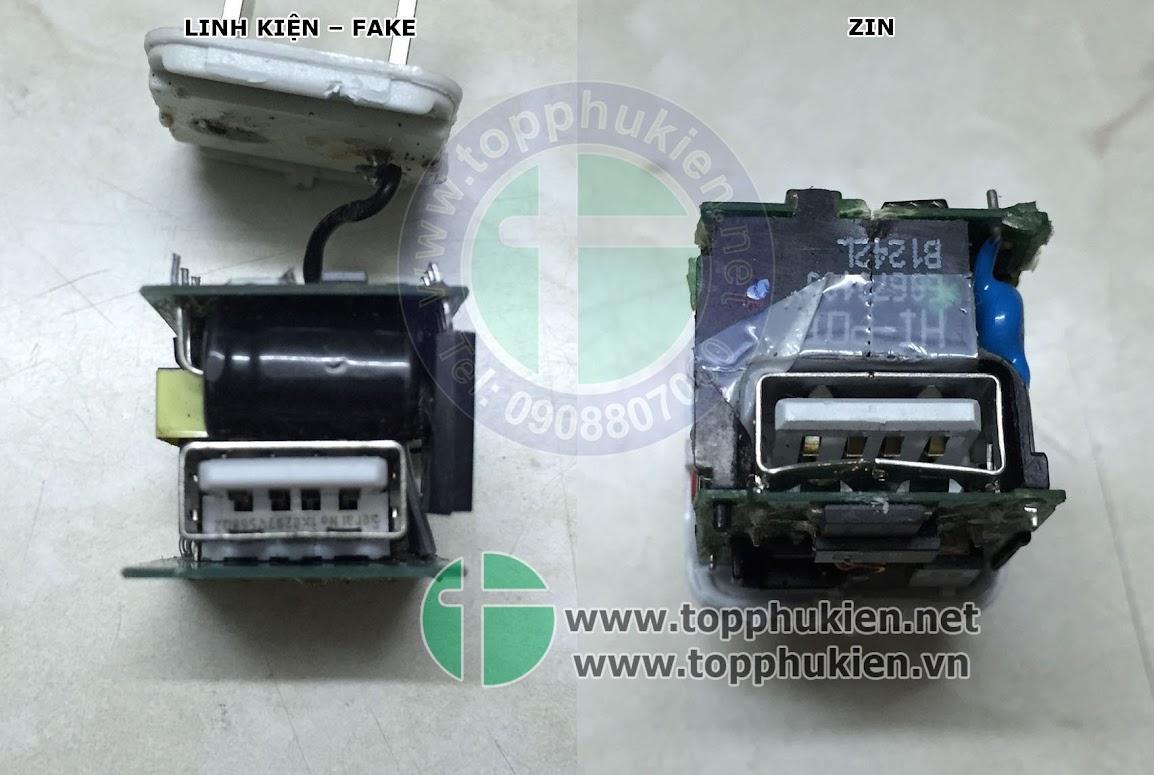 So sánh phụ kiện zin và fake cho iphone ipad - 2
