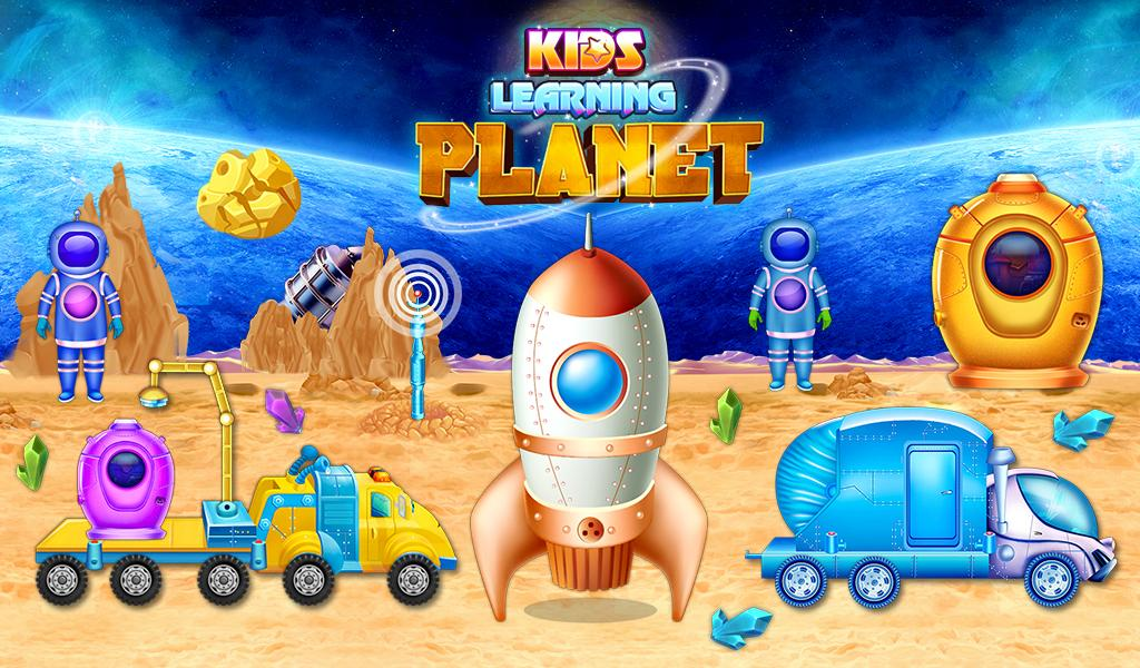 Kids Learning Planets- screenshot