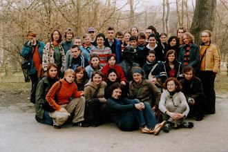 """Photo: Nałęczów, 04.2005 r. klasy 3 w ramach projektu """"Parki i ogrody..."""""""