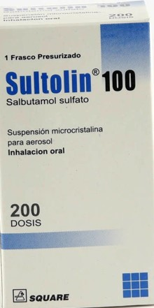 salbutamol sultolin inh 100mcg 200dosis square pharmaceuticals