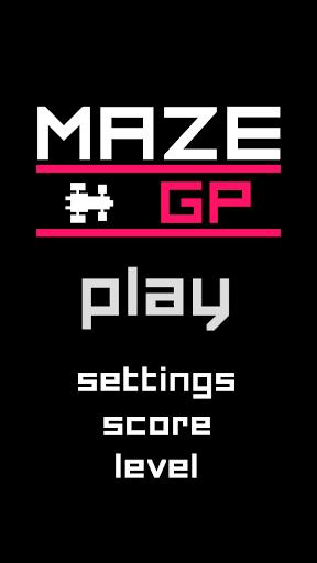ZX Maze GP - 8-bit F1 racer