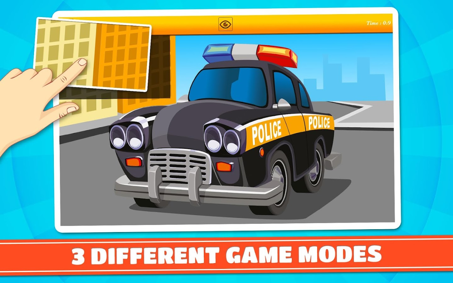 Cars and Vehicles Kids Puzzles- screenshot