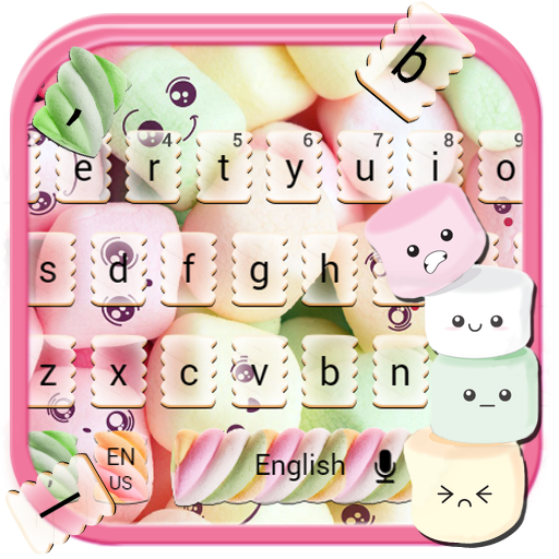 Marshmallow Keyboard Theme