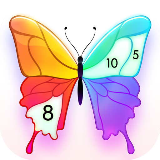 Paint Color: Color by Number Icon