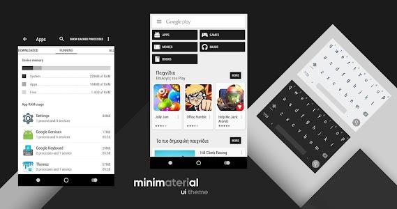 minimaterial - cm12 theme v3.6