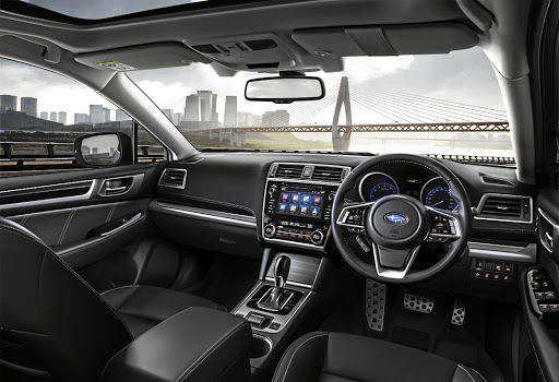 The interior has been upgraded to mirror that of the latest Legacy sedan. Picture: QUICKPIC