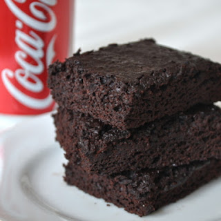 Coca Cola Brownies.