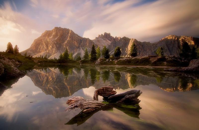 Tramonto al lago di Limedes di miglius57