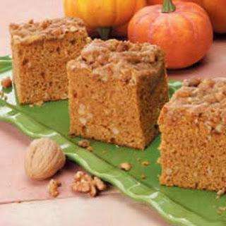 Contest-Winning Pumpkin Coffee Cake