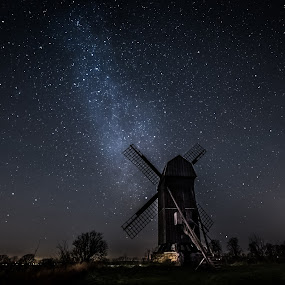 Old Mill by Jocke Mårtensson - Landscapes Starscapes