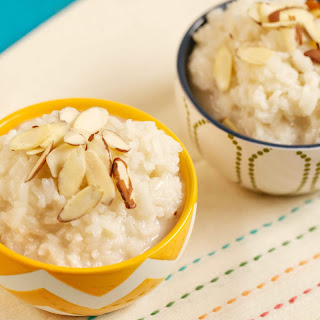 Almond Coconut Rice Pudding