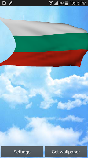 Bulgaria Flag Live Wallpaper